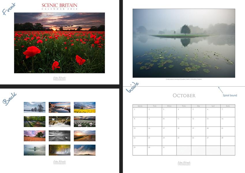 Scenic Britain Calendar 2012